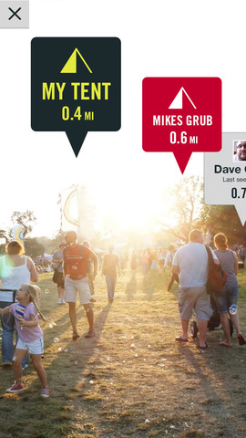 Festival Ready Augmented Reality Example